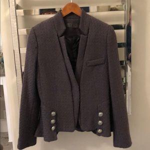 TOV wool blend jacket.